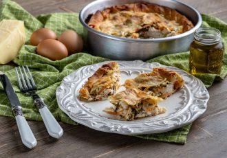 κοτόπιτα με λαχανικά συνταγη