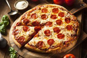 πίτσα πεπερόνι συνταγη