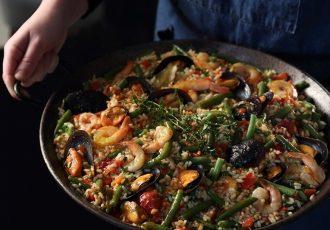 ρύζι με μύδια και γαρίδες συνταγη γαριδομυδοπιλαφο