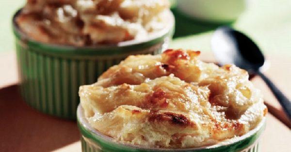 εύκολο σουφλέ ζυμαρικών με τυριά και μπεσαμελ μακαρονια συνταγη