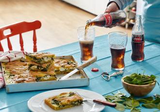 εύκολη σπανακόπιτα πλαστός πιτα συνταγη