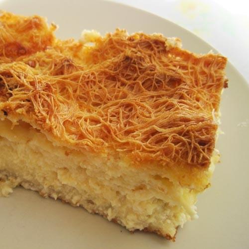 Τυρόπιτα με κανταΐφι και ανάλατη μυζήθρα, της Αθανασίας Λιανού