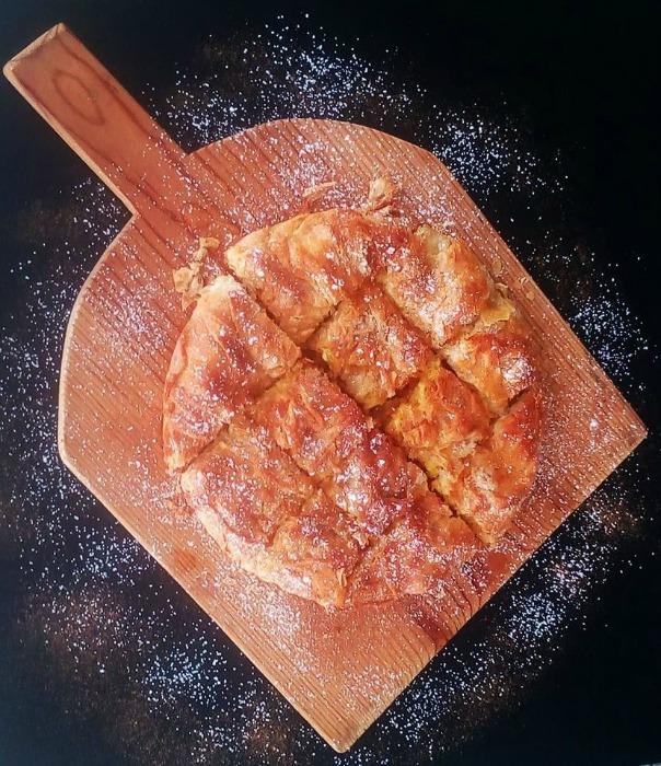 Πίτα με ρυζόγαλο και ανθότυρο, της Ελπίδας Χαραλαμπίδου (elpidaslittlecorner)