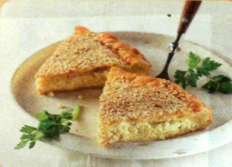 Παραδοσιακή τυρόπιτα με χειροποίητο φύλλο, της Ευσταθίας Κούτρα