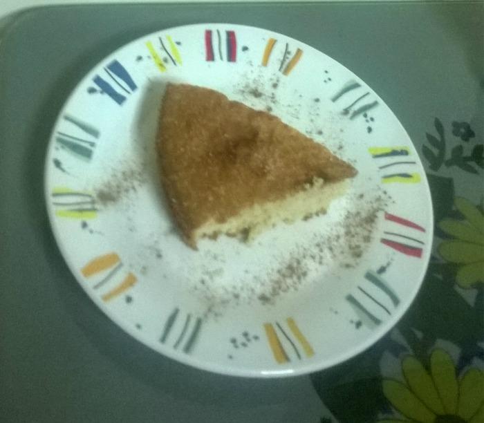 Μυρωδάτο κέικ κανέλας, της Αλέκας Τρυφωνοπούλου