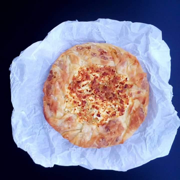 Τραχανοπλιγουρόπιτα με τυρί, της Ελπίδας Χαραλαμπίδου (elpidaslittlecorner)