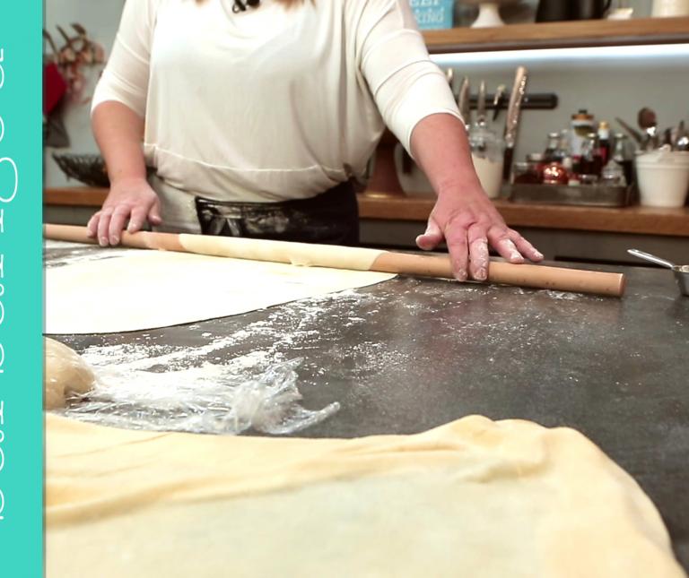 Χωριάτικο φύλλο για πίτα