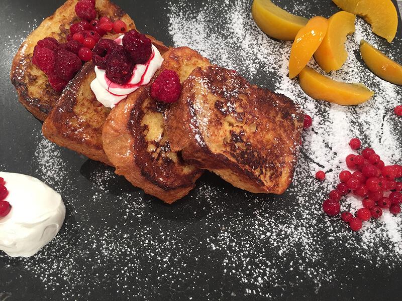 αυγοφέτες με μέλι στο τηγανι συνταγη french toast