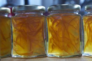 αποστείρωση βάζων για μαρμελάδες
