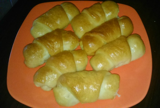 Μπουρεκάκια με αφράτη ζύμη, της Στέλλας Βαξεβάνη