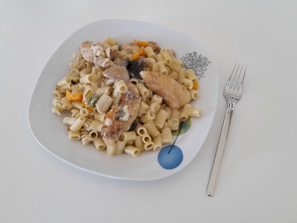 Pasta con gorgonzola, της Αλεξάνδρας Κατσαβουνίδου
