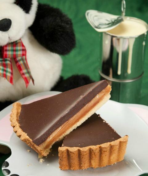 Τάρτα με ζαχαρούχο και σοκολάτα, του Παρασκευά Ιμπρισίμη