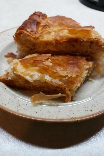 Κοτόπιτα με φύλλο κρούστας, της Παρασκευής Κωστοπούλου