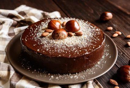 Τούρτα κάστανο με σοκολάτα-featured_image