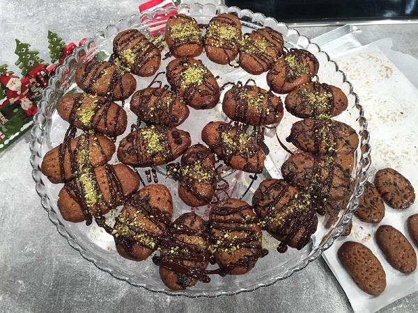 Μελομακάρονα με σοκολάτα