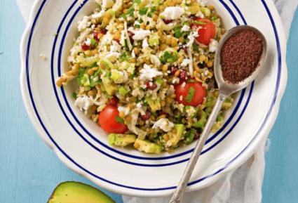 Φακές σαλάτα με φέτα και κους κους-featured_image