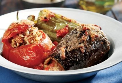 Gemista – Greek stuffed and baked vegetables-featured_image
