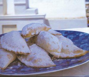 γλυκά σκαλτσούνια γεμιστά με καρύδια και μέλι ευκολα με ετοιμο φυλλο συνταγη κρητικά νηστίσιμα με γεμιση παραδοσιακά γλυκα κερασματα