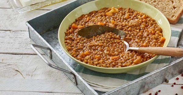 φακές σούπα της Αργυρώς