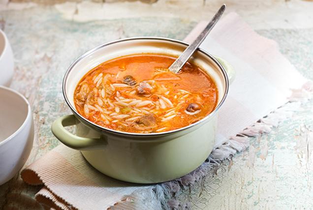 τελεια κρεατόσουπα με λαχανικα μοσχαρι κριθαρακι πεντανοστιμη κλασικη συνταγη