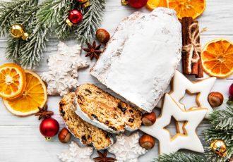 stollen χριστουγεννιατικο γλυκο στολεν συνταγή αργυρω