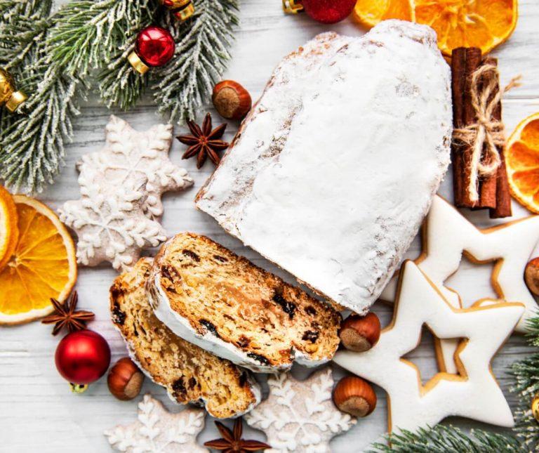 Stollen (Χριστουγεννιάτικο γλυκό)