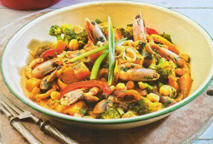 Γαρίδες κάρυ με λαχανικά-featured_image