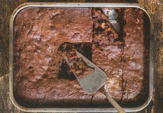 νηστίσιμο brownies χωρίς αυγά χωρίς βούτυρο vegan συνταγη