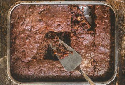 Νηστίσιμο brownies χωρίς αυγά και βούτυρο-featured_image