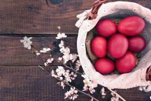 πασχαλινά αυγά πώς τα βάφουμε βράσιμο