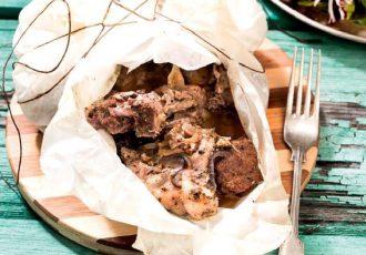 πασχαλινό καρέ κρεάτων πασχαλινή συνταγή κρέας πασχαλινό τραπέζι