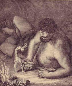 Η φέτα είναι είδος τυριού σε άλμη,  τις ρίζες της οποίας τις βρίσκουμε χιλιάδες χρόνια πριν στην Αρχαία Ελλάδα. Τις πρώτες αναφορές έχουμε στην Οδύσσεια του Ομήρου, με τον Κύκλωπα Πολύφημο. Σύμφωνα με το μύθο, ο Πολύφημος ήταν ο πρώτος κατασκευαστής φέτας και άλλων τυριών. Κουβαλώντας το γάλα από τα πρόβατα κάθε μέρα σε προβιές ζώων διαπίστωσε προς μεγάλη του έκπληξη ότι μετά από μερικές μέρες το γάλα έπηζε και γινόταν στερεό, φαγώσιμο και εύκολα μπορούσε να αποθηκευτεί.