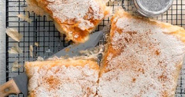 νηστίσιμη μπουγάτσα χωρίς αυγά με γάλα σόγιας ή γάλα καρύδας με σπιτικό φύλλο κρουστας νηστίσιμη κρέμα γλυκιά συνταγη