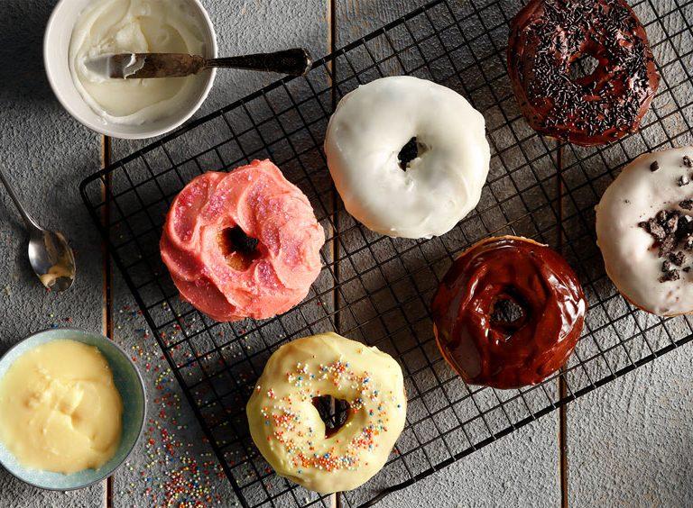 Ντόνατς (donuts) της Αργυρώς Μπαρμπαρίγου