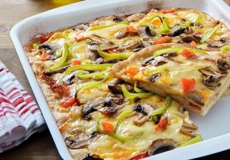εύκολη πίτσα συνταγη