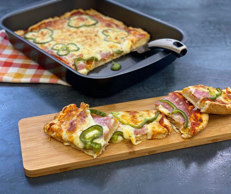 Ευκολη ζυμη για πιτσα