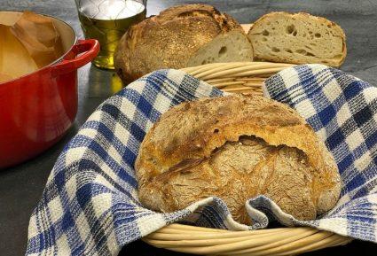 Εύκολο ψωμί χωρίς ζύμωμα-featured_image