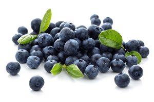 Αυτά τα μικροσκοπικά μούρα, έχουν την πιο ισχυρή αντιοξειδωτική δράση όλων των φρούτων. Η κατανάλωσή τους έχει αποδειχθεί ότι καταπολεμά την εξασθένιση της γνωστικής λειτουργίας του εγκεφάλου, που σχετίζεται με τη γήρανση.