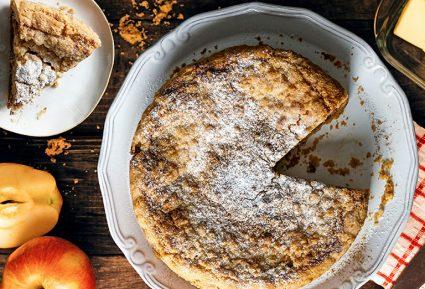Μηλοπιτα τριφτη (apple crumble)-featured_image