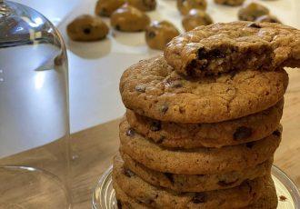 μπισκότα με κομμάτια σοκολάτας συνταγη chocolate chip cookies