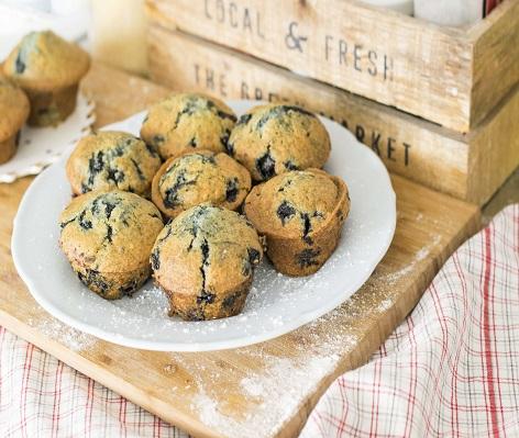 Muffins (βασική συνταγή)