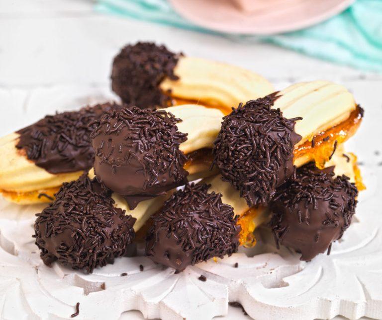 Πτι φουρ με σοκολάτα