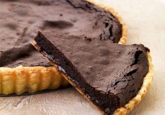τάρτα σοκολάτας συνταγή γλυκιά τάρτα με σοκολάτα