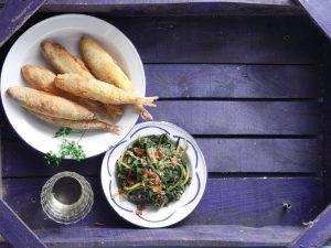 τηγανητα ψαρια μυστικα αργυρω