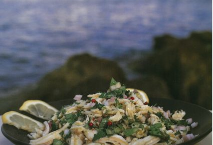 Σαλατούρι (ψαροσαλάτα με σαλάχι)-featured_image