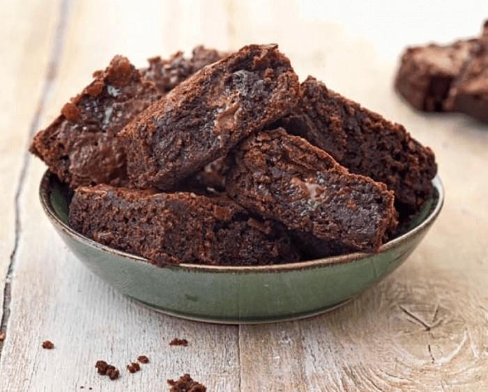 Brownies καραμέλα