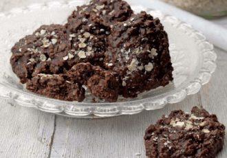 μπισκότα βρώμης με σοκολάτα