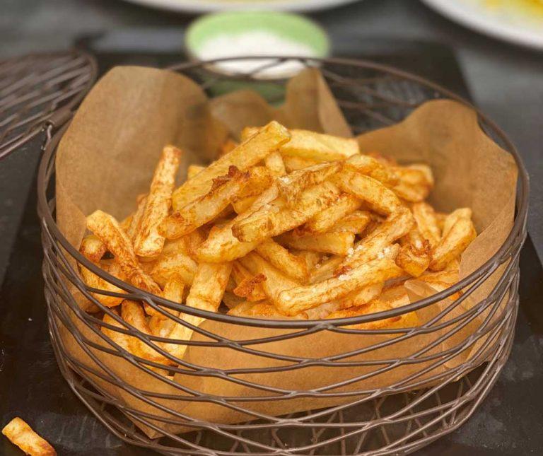 Τηγανητές πατάτες της Αργυρώς