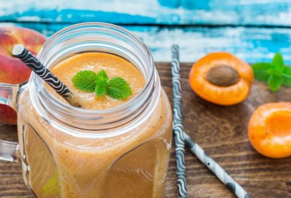 Smoothie βερίκοκο ροδάκινο-featured_image