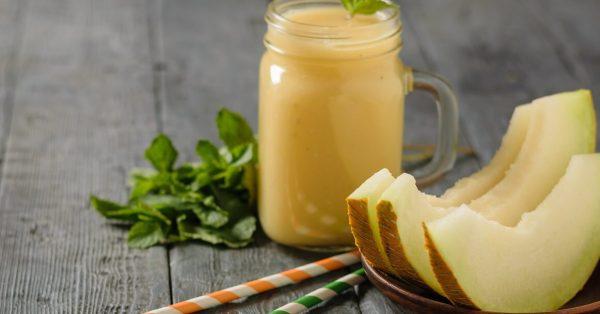 smoothie πεπόνι με γιαούρτι και παγωτο συνταγη συνταγη smoothies αργυρω